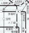 東京メトロ・地図式補充券 変更箇所