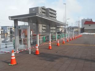 野幌駅南口・バス乗り場